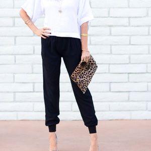 Black Joie Mariner Pants / Joggers Size XS